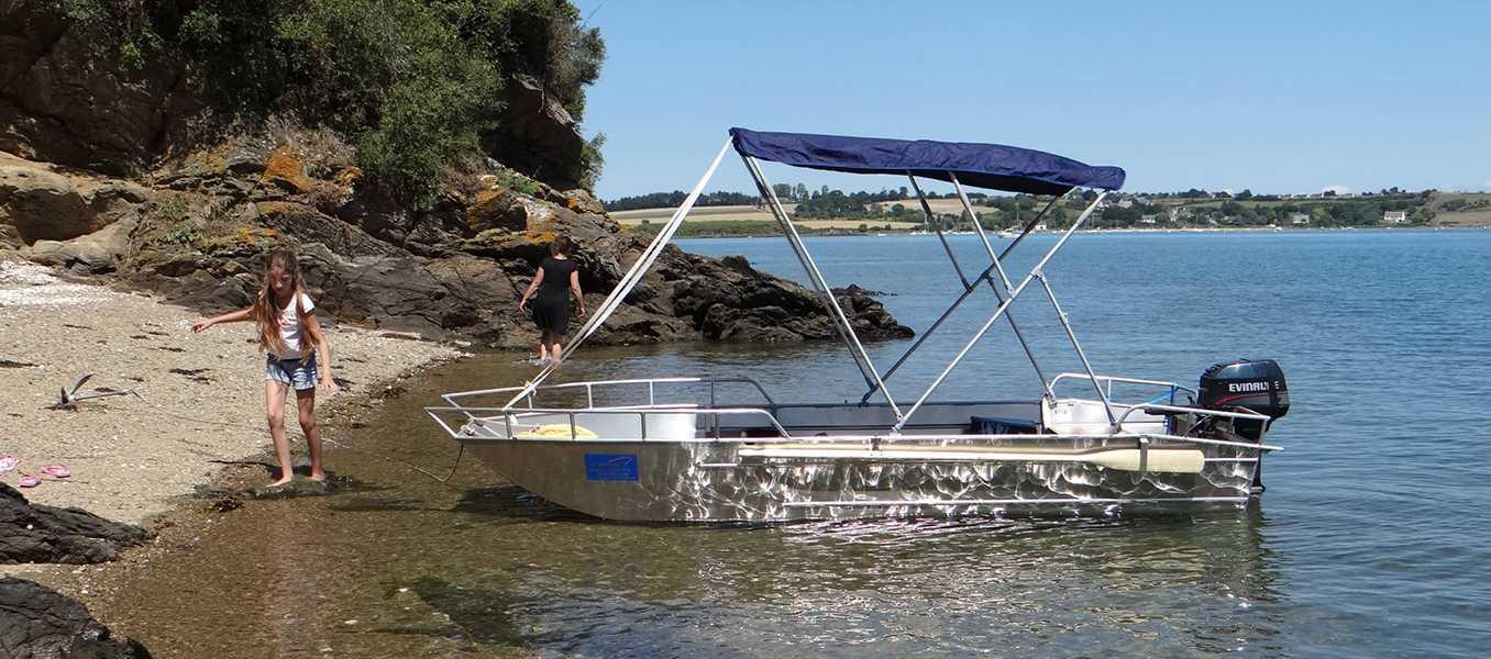 leichtes-Aluminiumboot-Tragflügelboot-1